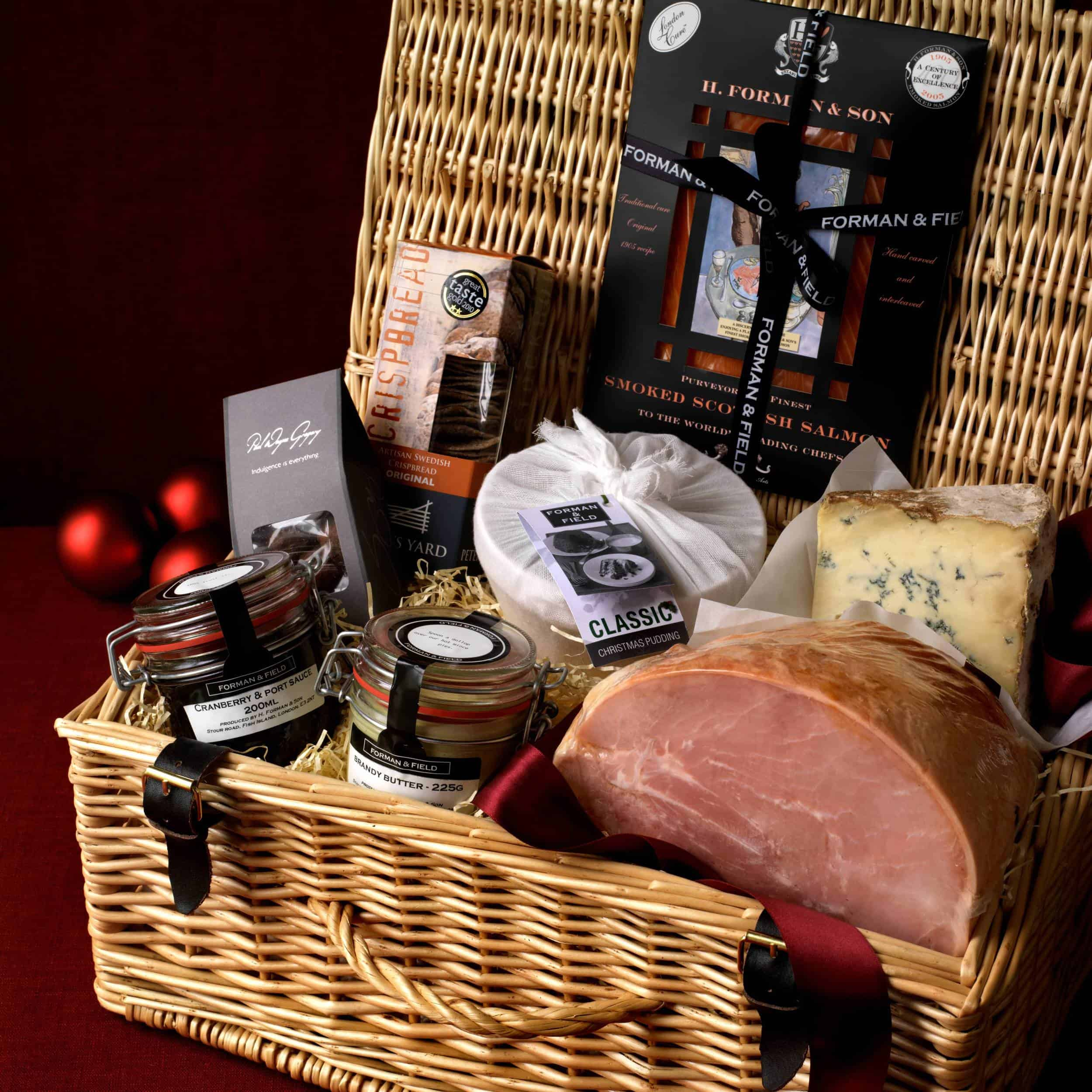 Image of Christmas In a Basket