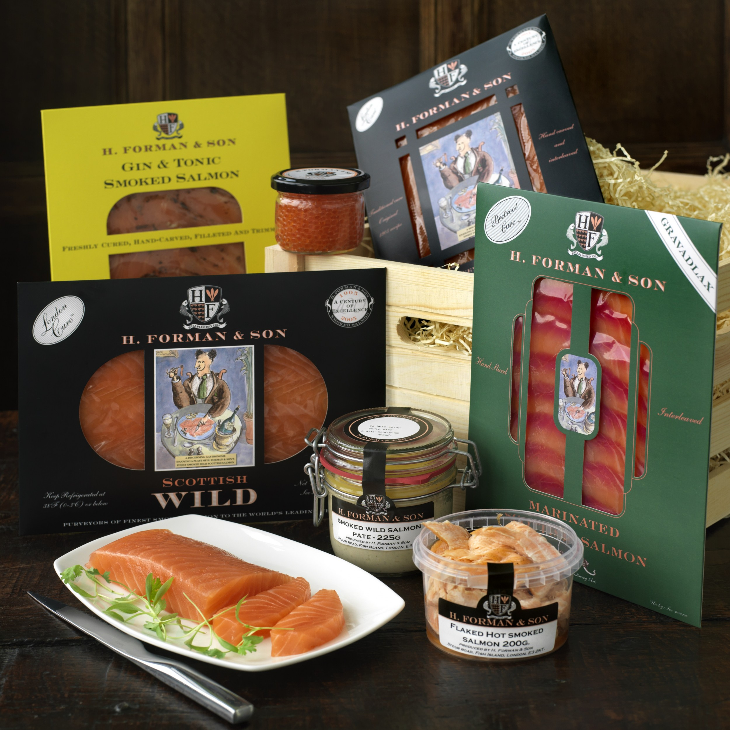 Image of Salmon Lover's Crate