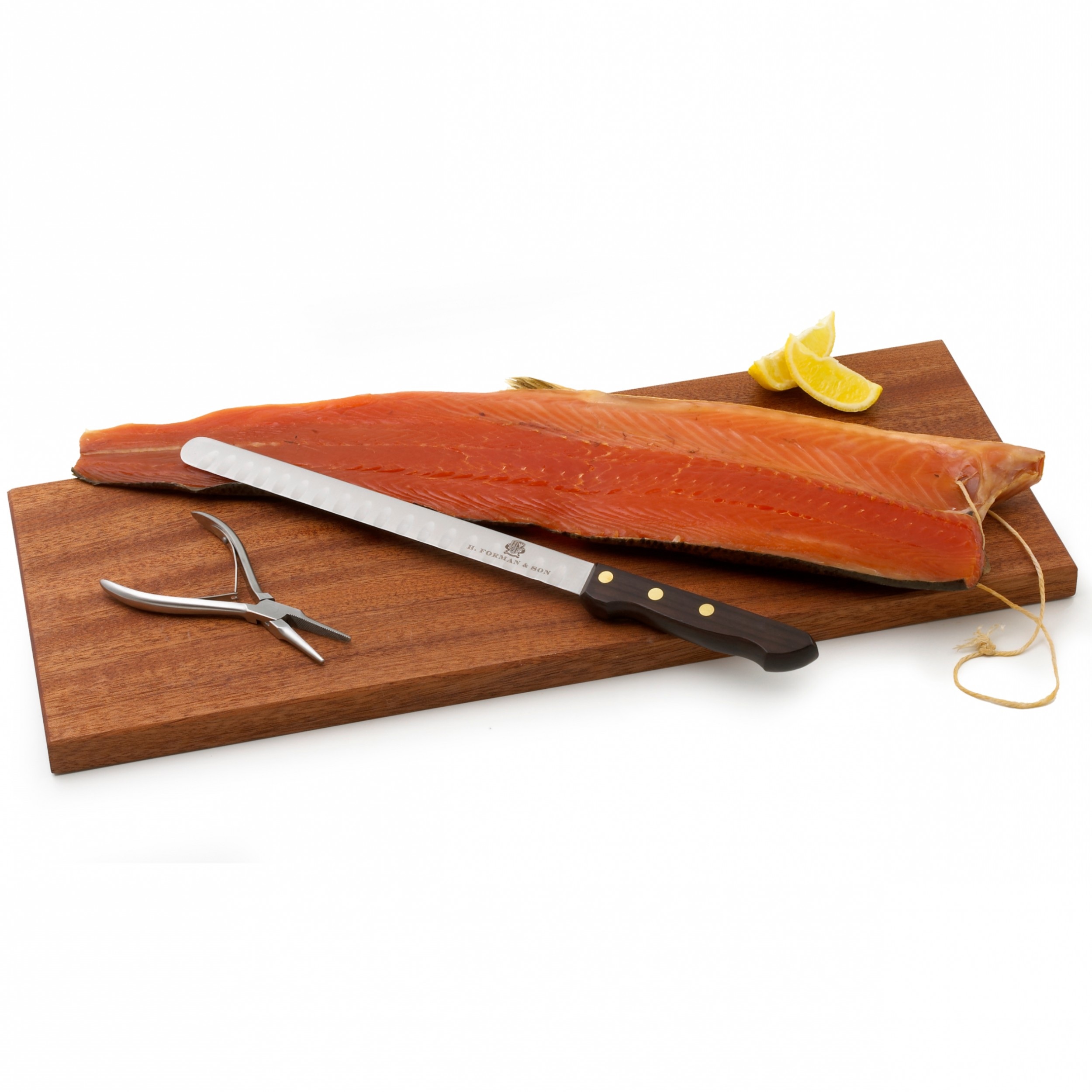 Image of Forman's Smoked Salmon Carving Knife and Kit