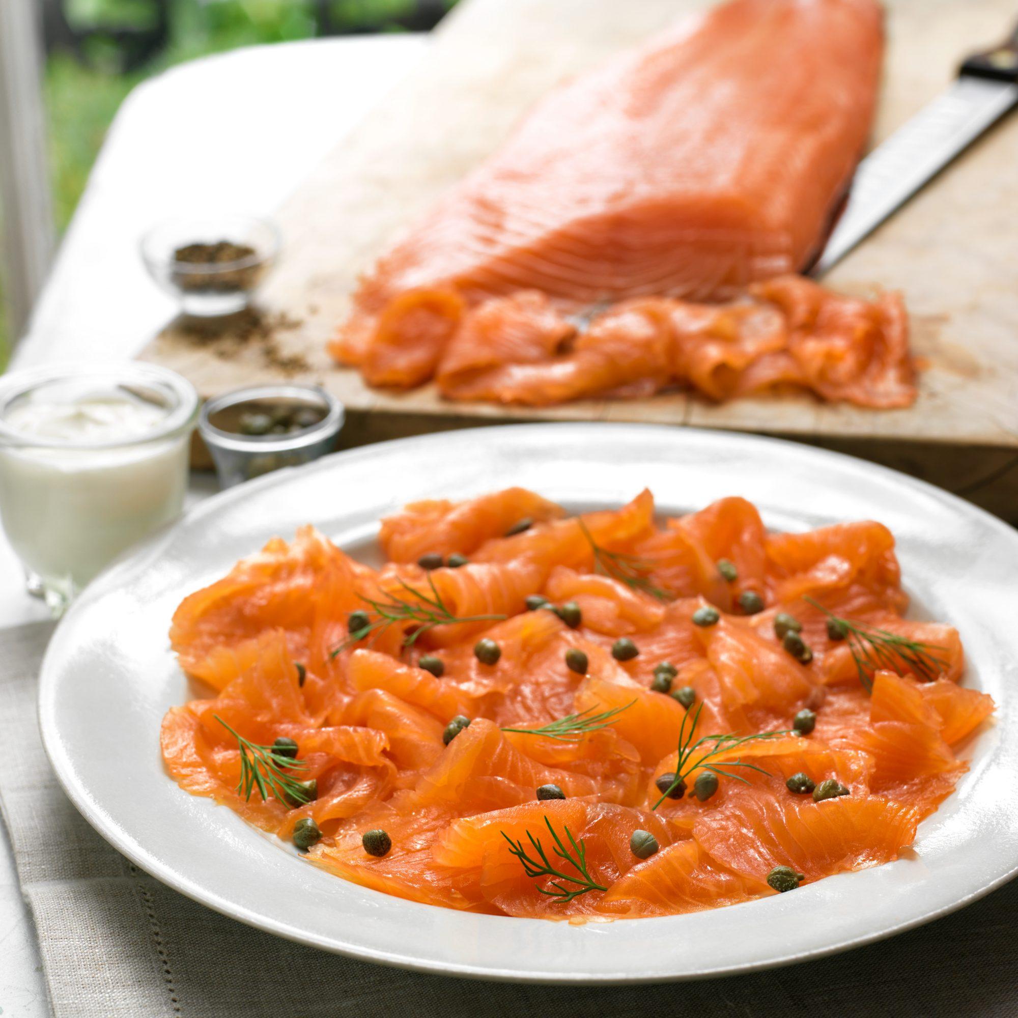 Image of Grade One Hand-Sliced Smoked Scottish Salmon
