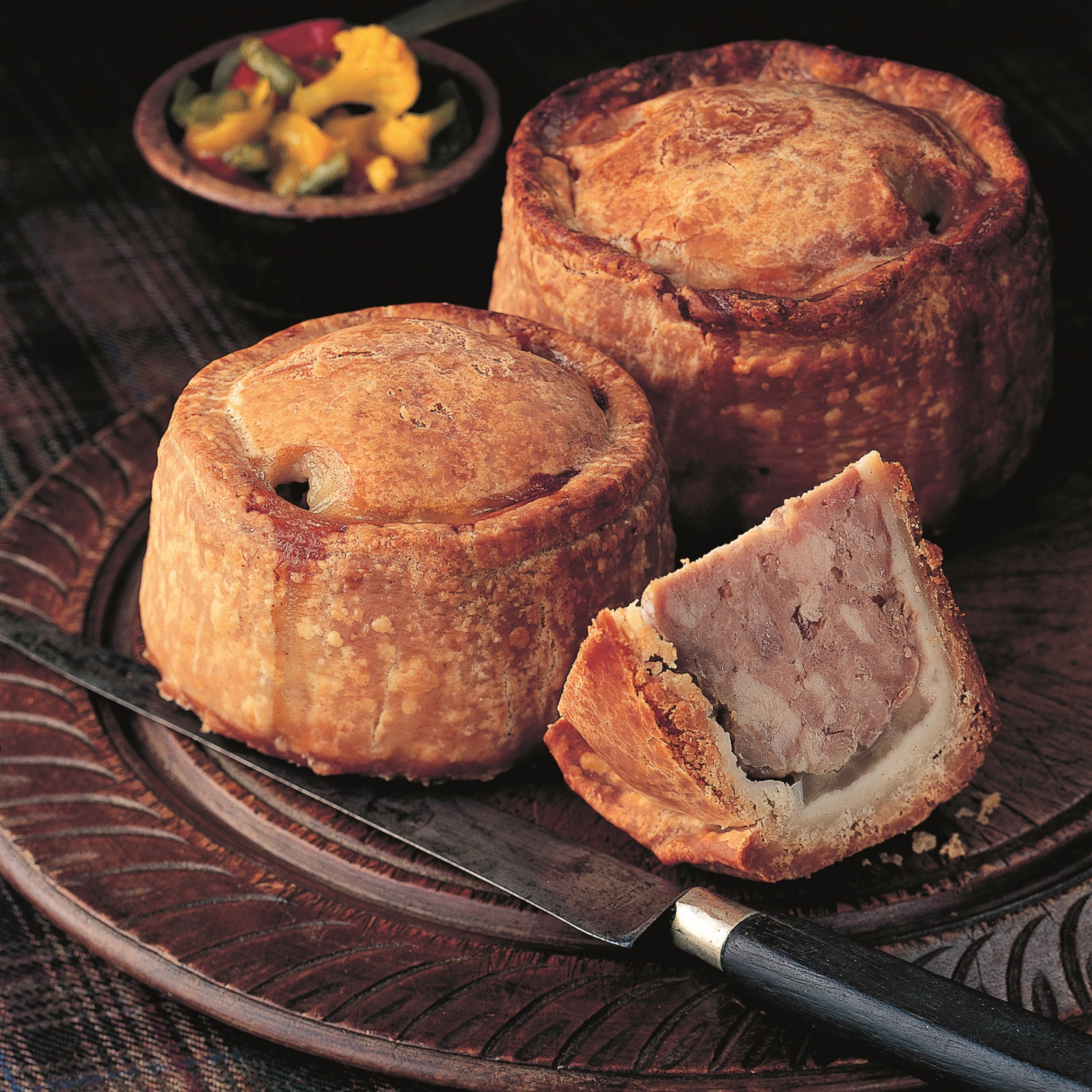 Image of Mrs King's Melton Mowbray Pork Pies