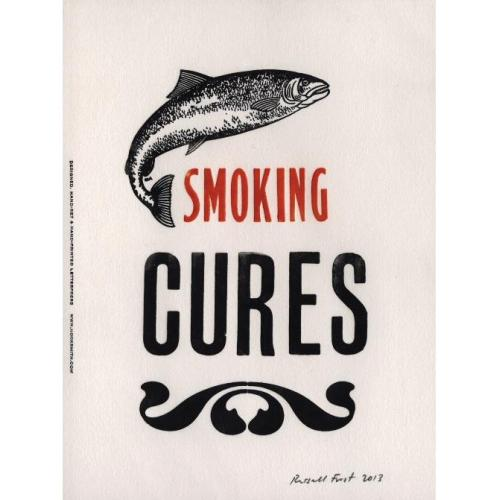 Image of Smoking Cures' Print