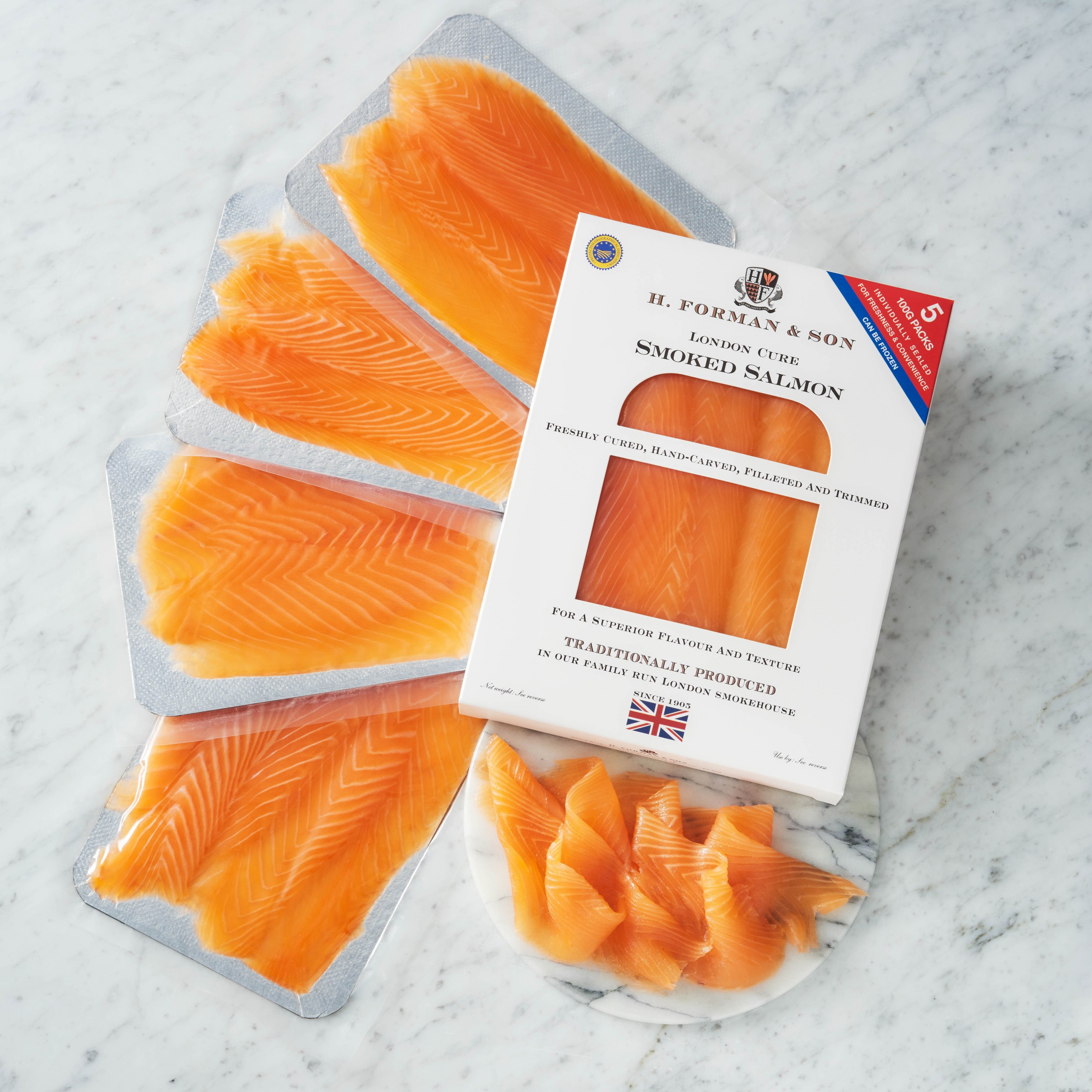 Image of London Cure Salmon Convenience Pack