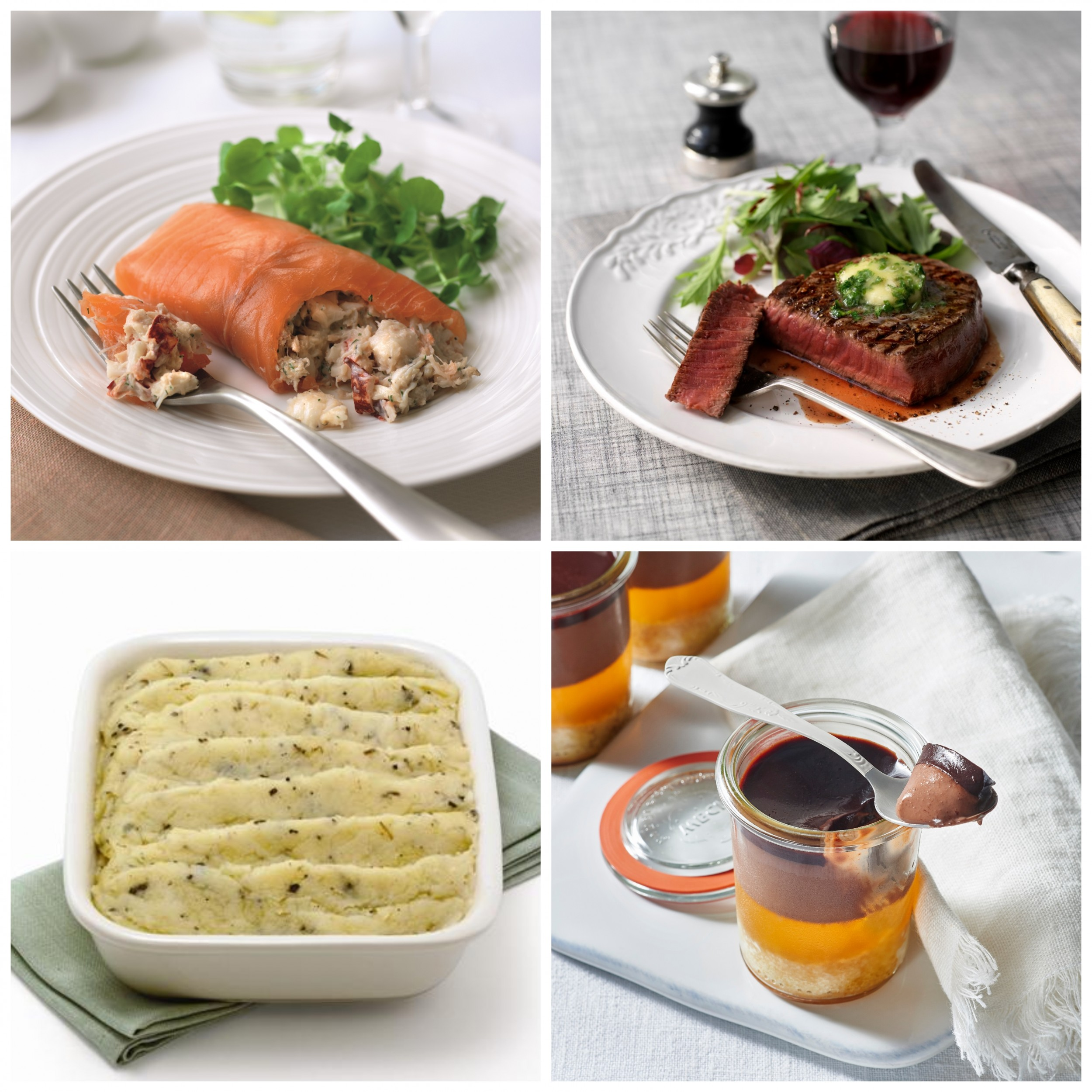 Image of Deluxe Dinner for Two – Dinner Party Menu